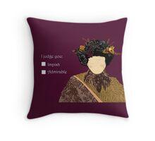 Belsnickel Throw Pillow