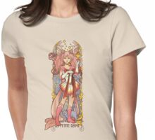 Small Lady Womens Fitted T-Shirt