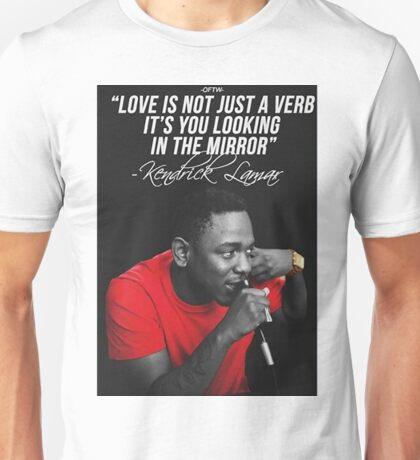 Kendrick Lamar Quote Unisex T-Shirt