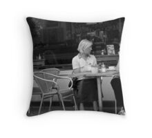 What are you telling me now?  Throw Pillow