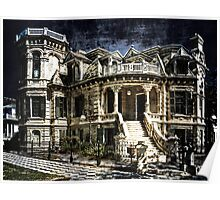 Galveston Mansion (view large) Poster