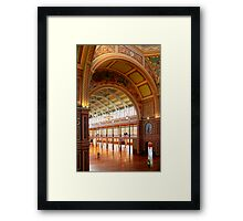 Royal Exhibition Building 3 (Open House 2011) Framed Print
