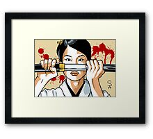 Cottonmouth (after Tarantino) Framed Print