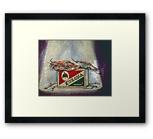 An Old Flame Framed Print