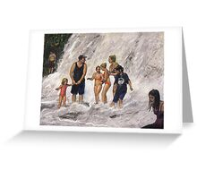 Willow River Falls Greeting Card