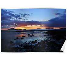 Louisburgh Sunset, County Mayo, Ireland Poster