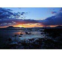 Louisburgh Sunset, County Mayo, Ireland Photographic Print