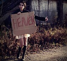 Hitchhike To Heaven by Fractured Porcelain Photography