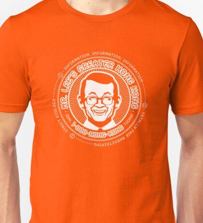 Mr. Lee's Greater Hong Kong - WHITE Unisex T-Shirt