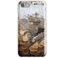 Birch and Fungi 4 iPhone Case/Skin