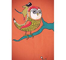 Awful Owly Thriller Photographic Print
