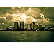 Downtown Honolulu (Hawaii) Photographic Print