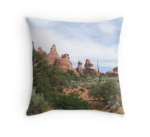 Arches, humps.... Throw Pillow