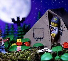 Lego Werewolf by Kevin  Poulton - aka 'Sad Old Biker'
