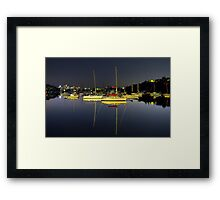 Still Morning Framed Print