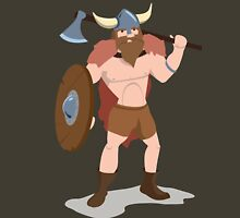 Viking with a big axe Unisex T-Shirt