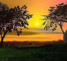 Citrus Sky by Norma Jean Lipert