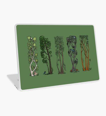Five Trees/Green Laptop Skin