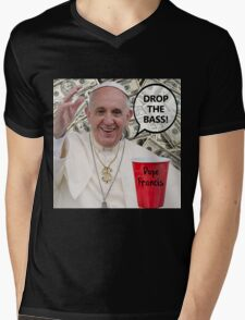 Dope Francis - the Dope Pope Mens V-Neck T-Shirt