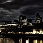 The Hidden Darkness of the financial district in london by Warren Parsons