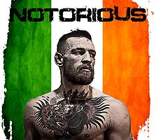 """""""The Notorious"""" Conor McGregor UFC by kevrast"""