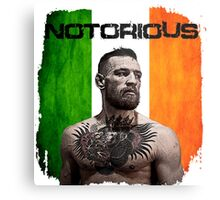 """The Notorious"" Conor McGregor UFC Metal Print"