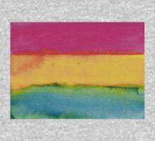 Watercolor Pansexual Pride Flag Kids Tee