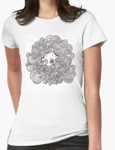 Suspended in Gaffa Womens Fitted T-Shirt
