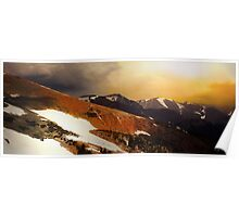 Trail Ridge Panorama Poster