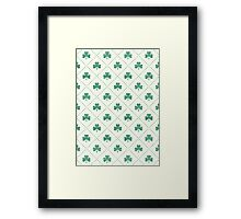 Shamrock On! Framed Print