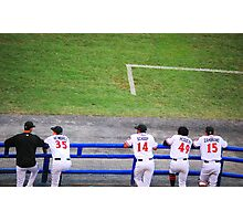 Take Me Out To The Ball Game.......... Photographic Print