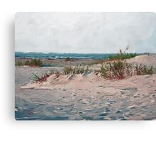 Dunes on the Point Canvas Print