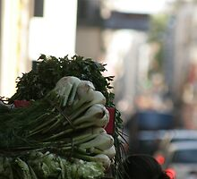 Vegetable shopping by J Forsyth
