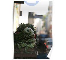 Vegetable shopping Poster