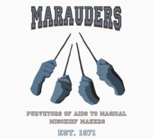 Marauders: 1971 - Harry Potter Series  T-Shirt