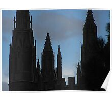 """""""Church Steeples"""" Poster"""