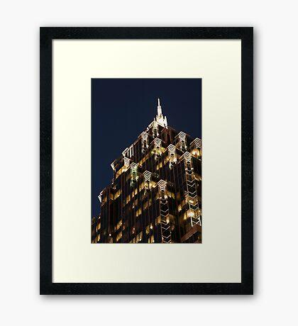 Atlanta, Georgia Framed Print
