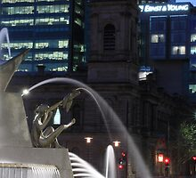 City fountain by Carly19