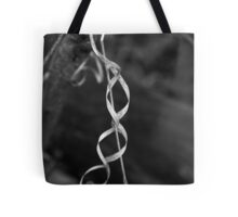 Forest Ribbon BW Tote Bag