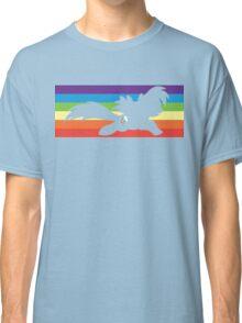 RBD rainbow sillhouette  Classic T-Shirt