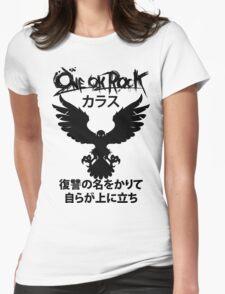 Karasu (カラス) [Black] Womens Fitted T-Shirt