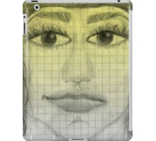 girl portrait iPad Case/Skin