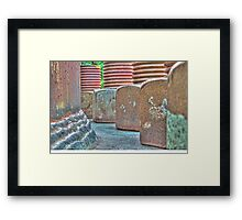 The Nuts and Bolts of It Framed Print