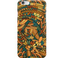 Vintage ornament iPhone Case/Skin