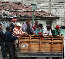 Local transport, Quilitoa, Ecuador by J Forsyth