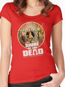 Justin Hamilton - Shine Of The Dead Shirt Women's Fitted Scoop T-Shirt