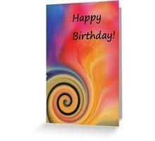 Birthday Card - Vibrant Colors Greeting Card