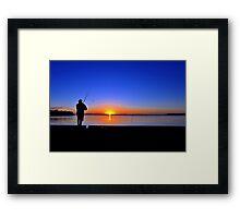 Carlo Point, Rainbow Beach at sunset. Queensland, Australia. (5) Framed Print