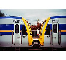 Train clevage Photographic Print