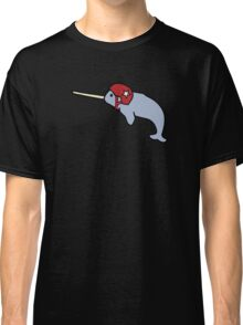 Roller Derby Narwhal Classic T-Shirt